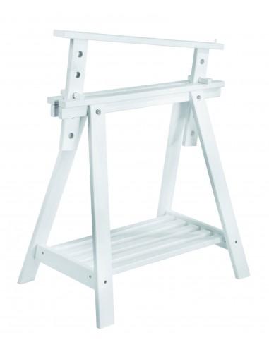 Caballete Archi Tec blanco regulable e inclinable en altura