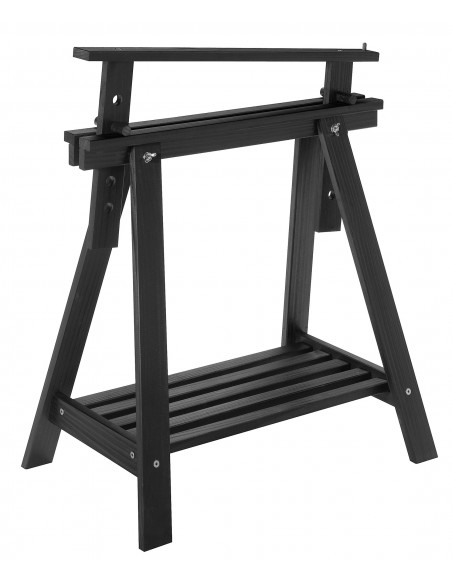 Caballete Archi Tec negro regulable e inclinable en altura