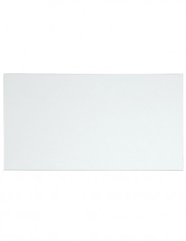 Tablero de cristal transparente para escritorio 140x72cm