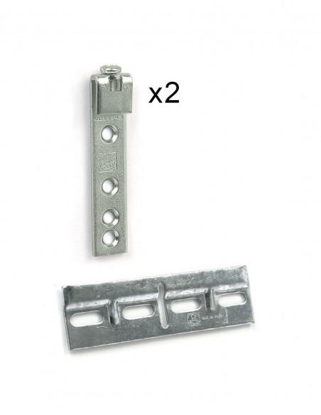 Herraje de colgador para las estanterías modulares Dinamic