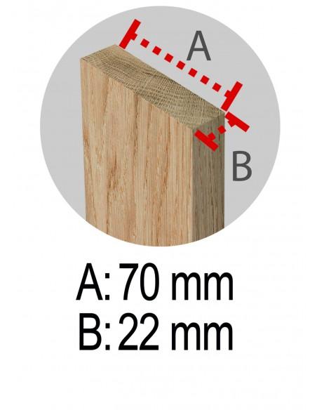 Caballete grande regulable para cortar leña de madera de pino