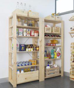 estante para botellas de vino en estanteria Evolution