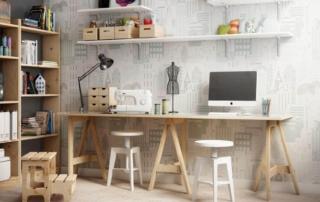 como crear una mesa de trabajo o estudio