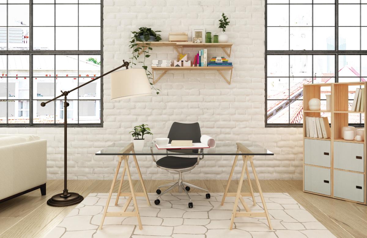 Monta tu oficina en casa escritorio