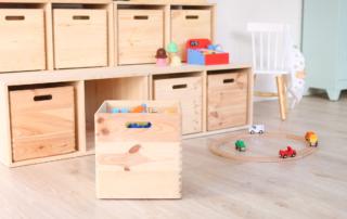 ordenar y organizar juguetes